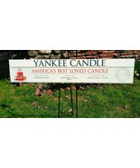 Yankee Candle Store Advertising Display Sign America's Best Loved Candle  - $123.75