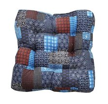 Square Soft Floor Cushions Japanese Style Tatami Pillows(21.6 inches,A8) - $35.12