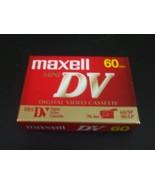 Maxell Mini DV 60 Minute Digital Video Cassette - Brand New!!! - $8.90