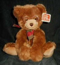 GUND Booker Marron Ours en Peluche Avec / Lunettes #44406 Animal Jouet Étiquette - $18.59