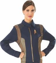 Women's Star Trek Discovery Operations Uniform Halloween Costume L 14-16 Rubie's - $69.29