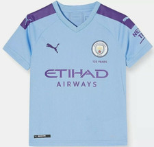 New Puma 2019-20 Manchester City Home Jersey (755586 01) Size Mens Small - $65.00