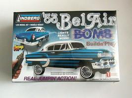 FACTORY SEALED SnapFit '53 BelAir Bomb by Lindberg #73028  Build n' Play - $108.89