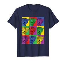 New Shirts - Jaguar Pop Art T-Shirt - Vintage Wild New Tee Men - $19.95+