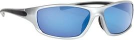 Forecast Optics Men's Caper Sunglasses, Silver / Blue Mirror - $17.99