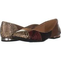 Jessica Simpson Gabrieli Slip On Ballet Flats 368, Neutral Combo, 7 US - $29.75