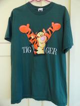 Disney Store Tigger the Tiger T-Shirt Green Adu... - $18.99