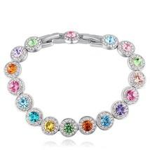 SHDEDE Austrian Crystal from Swarovski Charm Bracelets For Women Fashion... - $25.02