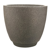 "Southern Patio 23"" Metro Poly-Resin Planter, Monzonite - $82.90"