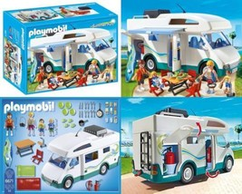 Playmobil - 6671 Famille avec camping-car  - $67.18