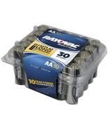 Rayovac Alkaline Batteries Reclosable Pro Pack (aa; 30 Pk) RVC81530F - $29.95