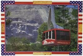 Georgia Stone Mountain Memorial Park Skylift Cable Car Unposted Postcard - $19.34