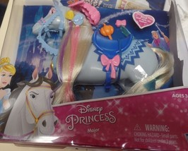 Disney Princess Cinderella Horse Major Brush and Style His Mane NEW - $19.99