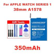 LOSONCOER 350mAh A1578 Battery for Apple watch Series 1 Series 2 38mm 42mm Real  - $20.94+