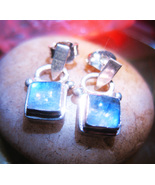 FREE Haunted EARRINGS CHARM GRACE ATTRACT LOVE MAGICK 925 MOONSTONE CASSIA4 - $0.00