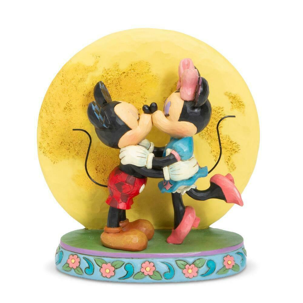 "6.3"" ""Magic and Moonlight"" Mickey & Minnie Mouse - Jim Shore Disney Traditions"