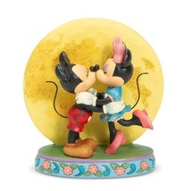 "6.3"" ""Magic and Moonlight"" Mickey & Minnie Mouse - Jim Shore Disney Traditions image 1"