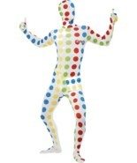 "Twister Second Skin, Chest 42""-44"", Twister Licensed Fancy Dress - $1.377,21 MXN"