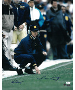 Lou Holtz signed Notre Dame Fighting Irish 16x20 Photo with Ken Regan- J... - $88.95
