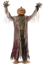 Animated Life Size Pumpkin King 7 ft Halloween Prop SEE VIDEO - €272,99 EUR