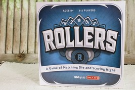 Rollers Board Game by USAopoly A Game of matching Die NIB Sealed - $11.99