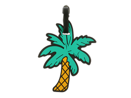 Palmtree ~ Travel Suitcase ID Luggage Tag and Suitcase Label - $8.95