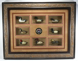 Rare HTF Ducks Unlimited Classic American Antique Decoy Collection Frame... - $727.19