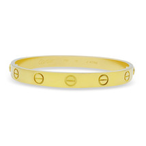 Cartier 18K Yellow Gold Size 16 Love Bracelet with Screwdriver - $4,949.01