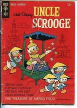 UNCLE SCROOGE #64 1966-GOLD KEY-WALT DISNEY-CARL BARKS ART-good/vg - $45.40
