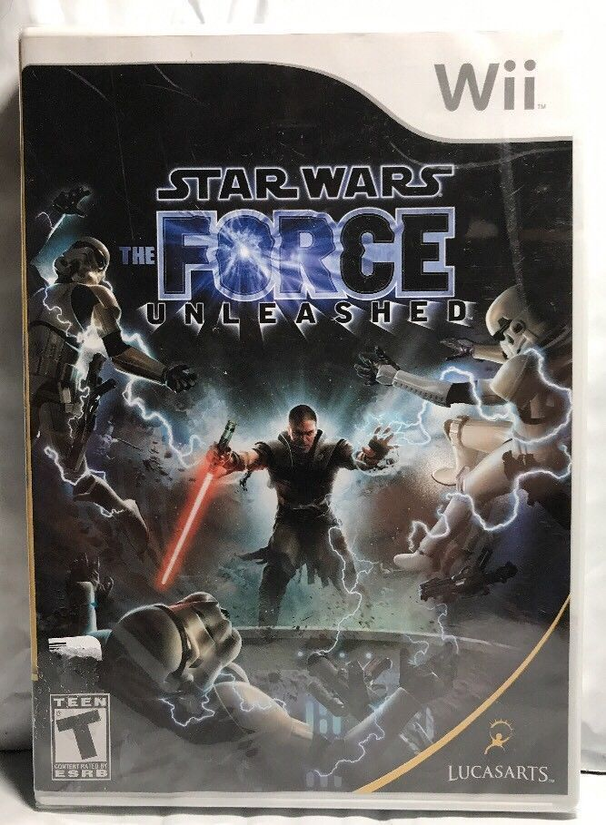 Star Wars The Force Unleashed Nintendo Wii 2008 NEW FACTORY SEALED GAME