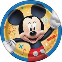 Mickey and The Roadster Racers Dessert Plates 8 Count Birthday Party Supplies - $4.06