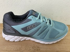 NEW Fila Women's Size 7 White/Black/Teal Casual Sneakers - $27.71
