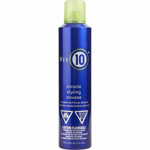 ITS A 10 by It's a 10 MIRACLE STYLING MOUSSE 9 OZ for UNISEX -(Package Of 3)