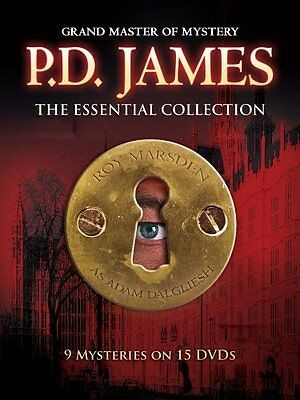 Primary image for P.D. PD James The Essential Collection DVD Set Series Show Episodes TV Complete
