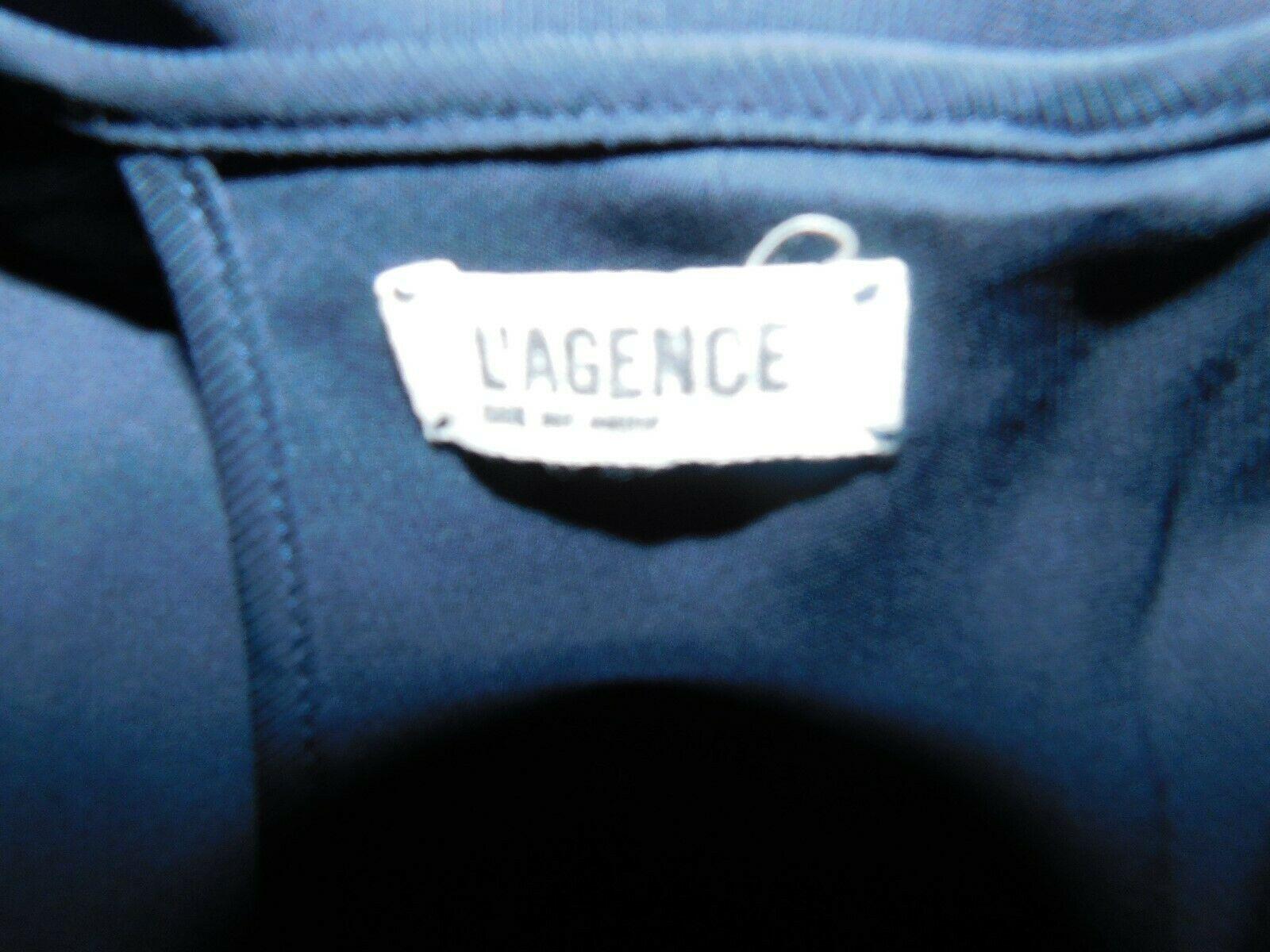 L'AGENCE MIDNIGHT SLEEVELESS MAXI DRESS SIZE 0 EUC