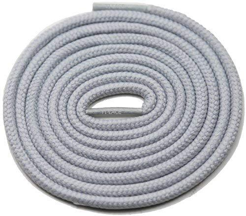 "Primary image for 54"" GREY 3/16 Round Thick Shoelace For All Kid's Shoes"