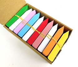 """4"""" X 5/8"""" - 1000pcs - Plant Stakes Tags Labels Bright Rainbow Colors Made in USA - $57.42"""