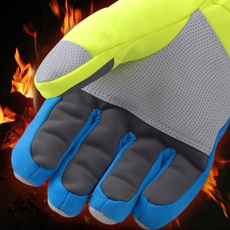 Winter Professional Ski Gloves Girls Boys Adult Waterproof Warm Gloves Snow New