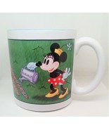 """Disney Store Minnie Mouse """" #1 MOM""""  20 oz Coffee Mug Over sized Blue In... - $19.77"""