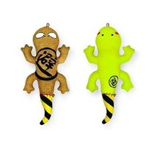 Set of 2 Lovely Geckos Bamboo Charcoal Doll - Air Purifying Bag (30cm)