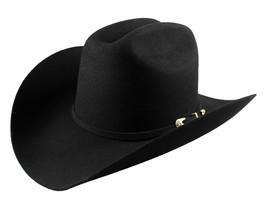 Men's Cowboy Hat El General Texana 50X Horma Julion Color Black Wool - €73,77 EUR