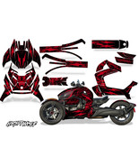 Full Body Wrap Graphic Sticker Decal for Can-Am Ryker 2019 - Nightwolf Red - $287.05