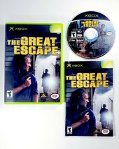 The Great Escape (Microsoft Xbox, 2003) Complete with Manual CIB - Free Shipping - $9.45