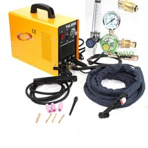 200 AMP DC PULSE TIG ARC MMA INVERTER WELDING WELDER MACHINE W/ARGON REG... - $227.69