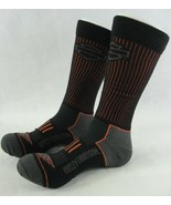Harley Davidson Motorcycles All Weather Sock Mens Size Large 9-13 Black ... - $17.81