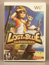 Lost in Blue: Shipwrecked (Wii 2008) Brand New Y-Fold Sealed Out of Prin... - $79.95