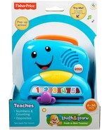 Fisher Price Laugh & Learn PEEK-A-BOO TOASTER - Numbers Counting & Oppos... - $22.80