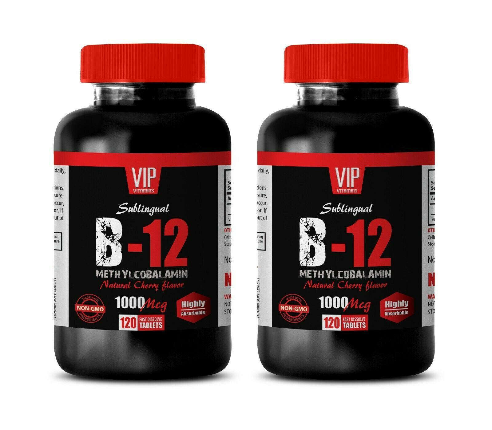 healthy energy booster - METHYLCOBALAMIN B-12 - energy boost all natural 2 BOTTL - $28.01