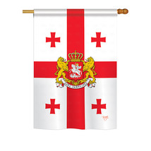 "Georgia Republic - 28"" x 40"" Impressions House Flag - H108212 - $36.87"