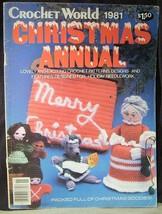 Christmas Crochet - Ornaments, Potholder, Purse, Puppets, Stocking, Lights - $7.43